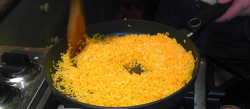 Yellow Rice / Arroz Amarillo | Cook With Us